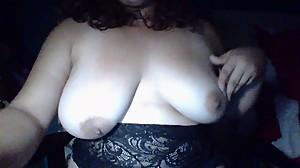 Massaging My Big Tits